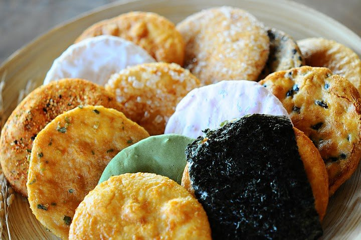 Senbei - Japanese Traditional Rice Crackers