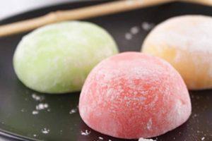 Mochi Cakes - Japanese Traditional Snacks